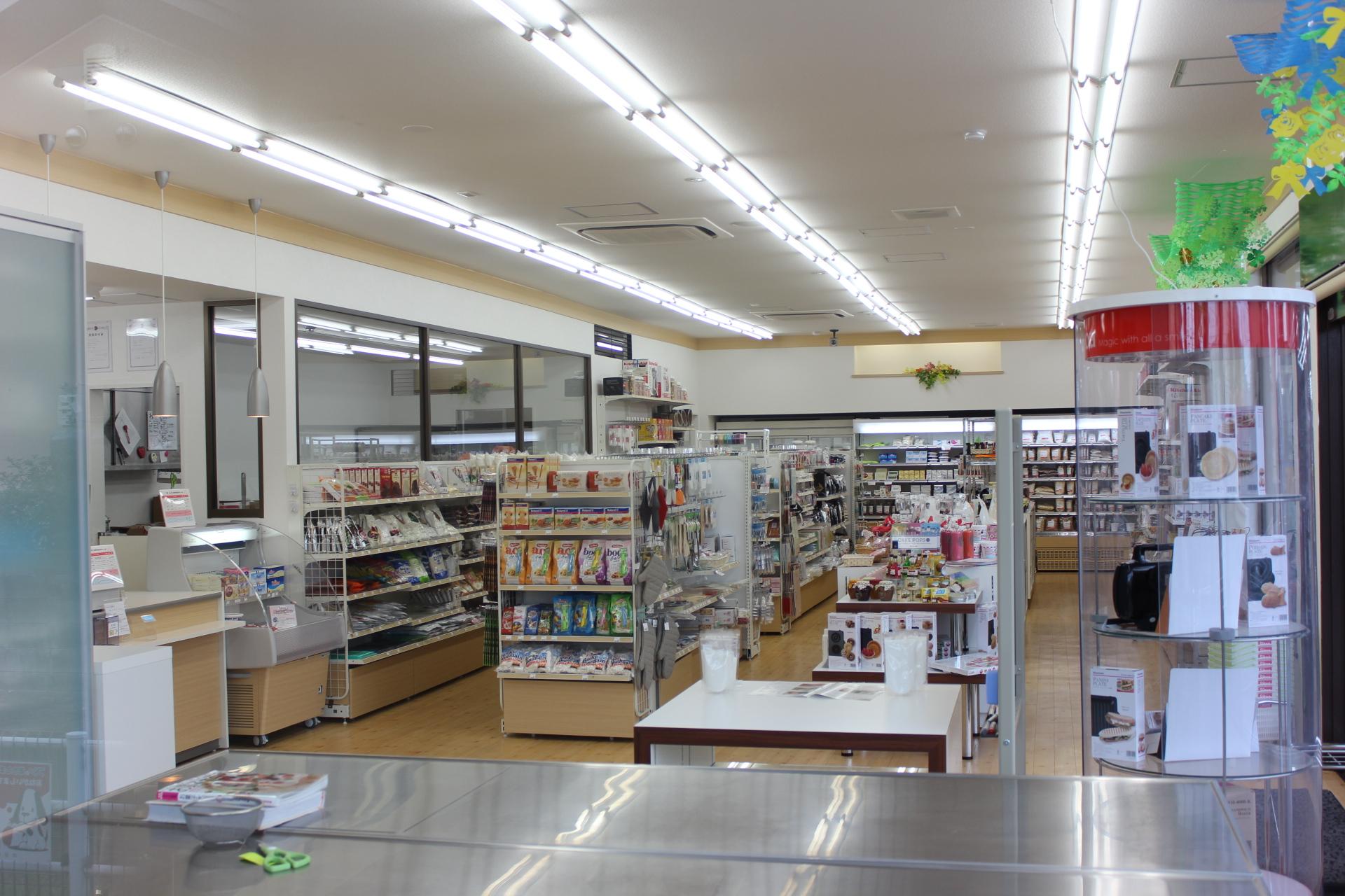 パン・お菓子の材料専門店リトア